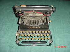 Early VINTAGE CORONA PORTABLE STANDARD FOLDING TYPEWRITER Model 3 ? # 10342