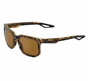 100% Active Performance Sunglasses Centric Soft Tact Havana Bronze PEAKPOLAR Len