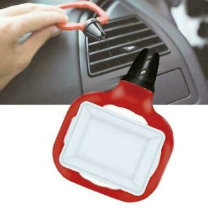 2x Saucemoto Dip Clip In-Car Ketchup Holder Sauce Cup Mini Dipping Cup Fried red