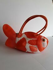 Womans Goldfish Novelty Handbag Purse by PIQ Bags