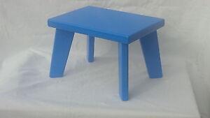 Handmade Pine/MDF,Blue Children StepStool, Kids Stool,Chair Boys&Girls