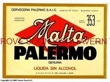 Scarce Cerveza Malta Palermo Buenos Aires 353ml 2181 Argentina Tavern Trove