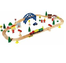 Perfect For Little Chad Valley 60 Piece Train Set With Big Imaginations
