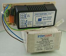 Potterton Netaheat Flame Monitor PCB 407676 BNIB (C7116)