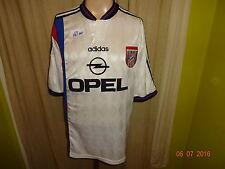 """Fc Bayern Munich original adidas UEFA-Cup vencedor camiseta 1996 """"Opel"""" talla XL"""