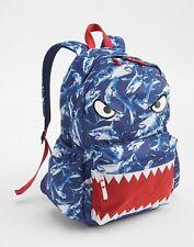 GAP KIDS BOYS GIRLS SENIOR BACKPACK BAG SCHOOL BLUE SHARK NEW