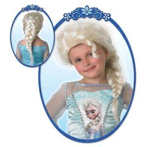 ELSA ZOPF PERÜCKE MÄDCHEN # Karneval Fasching  Disney Frozen Eiskönigin Kinder