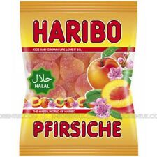 Haribo Peaches Halal Sweets 100g Discount When you Buy More Than One