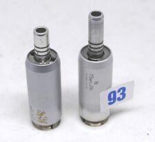 3x Micromotor micro moteur dont 2x Bien Air défectueux Dental défectueux #93