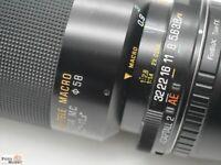 Tamron CF Tele Macro 3,8-4 / 80-210 mit Fuji FX-Anschluss (TAM-FX) Zoom-Objektiv