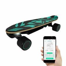 SwagTron Spectra Mini Electric Skateboard for Kids 9.3mph Max Speed 8 Mile Range