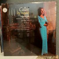 "MARIA CALLAS - By Request - 12"" Vinyl Record LP - SEALED"