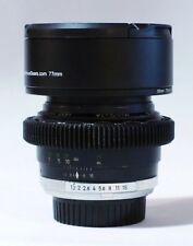 Cine-conversion Minolta MC Rokkor - PG 58mm f/1.2 Lens
