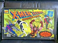 Uncanny X-MEN Alert! Vintage 90's Adventure Board Game Marvel Comics