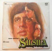 Silsila Rare Bollywood Double Gatefold LP Shiv Hari 1981