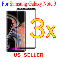 3x Full Cover Curved Clear Screen Protector Guard Film For Samsung Galaxy Note 9