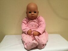 Zapf Creations Doll, Sleep Eyes, Vinyl, Cloth, Fair Skin, Original Sleeper, Euc