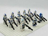 13 Minifigures Lot Star Wars 501st Squadron Captain Rex Jesse Echo Building Toys