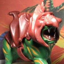 Battle Cat - Cringer MOTU Vintage With Armor And Saddle