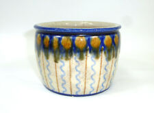 Seltene Keramikvase / Topf Bunzlau um 1900 Vase