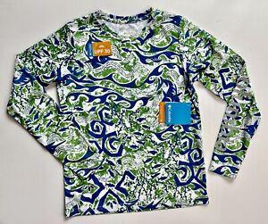 Columbia Super Terminal Tackle Omni-Wick Omni-Shade UPF 50 Sun Swim Shirt M NEW