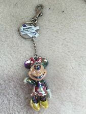 WALT DISNEY WORLD JOINTED MINNIE MOUSE BAG CHARM/KEYRING  GENUINE FROM FLORIDA