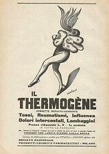 Y0867 Thermogène Vandenbroeck - Illustrazione - Pubblicità 1928 - Advertising
