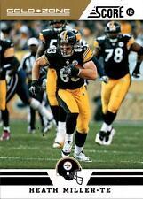 2012 Score Gold Zone #190 Heath Miller Steelers