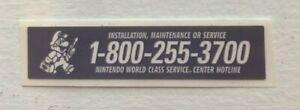 NEW Sticker Label Service Nintendo Game Boy Original DMG-01
