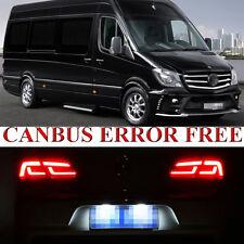 2 Ps For Mercedes Sprinter 3t Xenon White LED Number Plate Error Free Light Bulb