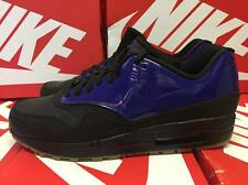 Nike AIR MAX 1 VT QS TAGLIA UK 9 EUR 44 Blu Nero 831113 400
