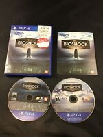 BioShock: The Collection (Sony PlayStation 4, 2016) CIB