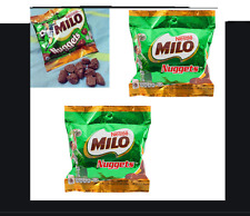 90gX2 Nestle MILO Chocolate NUGGETS Malt Flavoured Confectionery ENERGY Snack