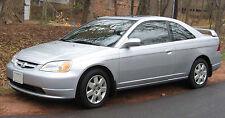 2001-2005 honda civic 2dr coupe front right passenger seatbelt seat belt buckle