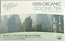 Prince of Peace 100% Organic Oolong Tea( 6.35 Oz /180g) - 100 Tea Bags x 1.8g
