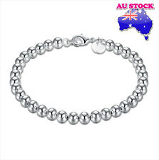 Layered Solid Ball Chain Bracelet Wholesale Classic Women's 925 Sterling Silver