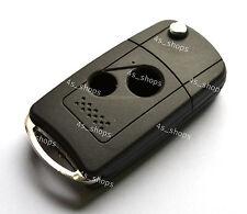 Flip Folding Remote Key Shell Case For Honda Accord Civic Pilot CR-V 2 Button 2B