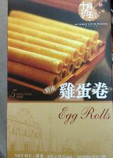 Chinese Snacks October 5th Bakery Egg Rolls
