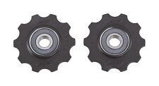 BBB RollerBoys Ceramic Jockey Wheels Gear Pulleys 10T Black - BDP-11