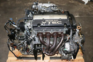 2001 HONDA PRELUDE BASE 2.2L H22A4 Engine M6HA AutomaticTransmission
