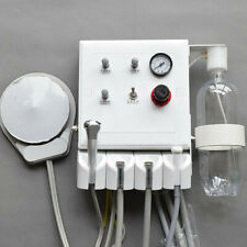Dental Turbine Unit Portable Work Hanging Wall Type With Air Compressor 4 Hole