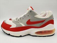 Nike Air Max Burst Retro White/Red 1999 Sz 9 Vintage Anniversary 604041-162