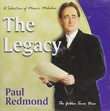 Paul Redmond - Legacy: Selection of Moore's Melodies by Redmond, Paul CD