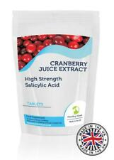 Cranberry Succo 5000mg Estratto Salicilico Acid Compresse GB