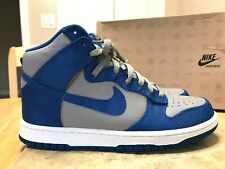 brand new 3a39b 917c5 NIKE DUNK HIGH SIZE 9 MEN S SHOES 2010 317982 006 GREY   BLUE
