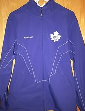 Toronto Maple Leafs Reebok Center Ice NHL Authentic Water Repellent Jacket NHL