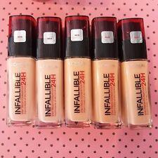 L'oréal Paris 24h Infallible Fondotinta 120 Vanilla 30 ml