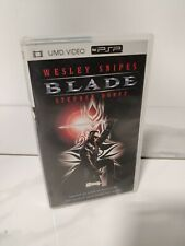 BLADE Sony Playstation Portable PSP UMD Video Vampire Movie Wesley Snipes