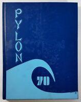 1970 LEUZINGER HIGH SCHOOL Lawndale California Original YEARBOOK Annual Pylon