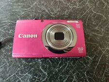 Canon PowerShot A2300 16.0MP Digital Camera with Canon Case and Cable
